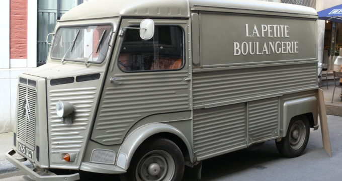Furgoncino Citroen Type H food truck