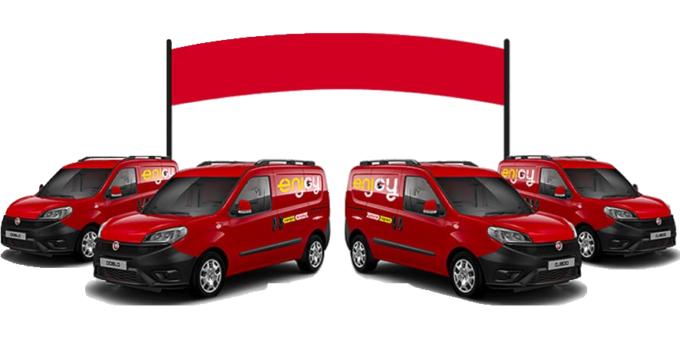 Furgoni FIAT Doblò per Van Sharing con Enjoy Cargo di ENI | Furgone No Problem
